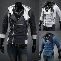 Sweater, blouson bleu,gris clair ou foncé, fashion, pas cher