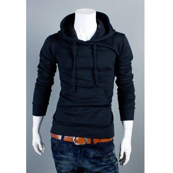 Sweater simple fashion avec cole releve