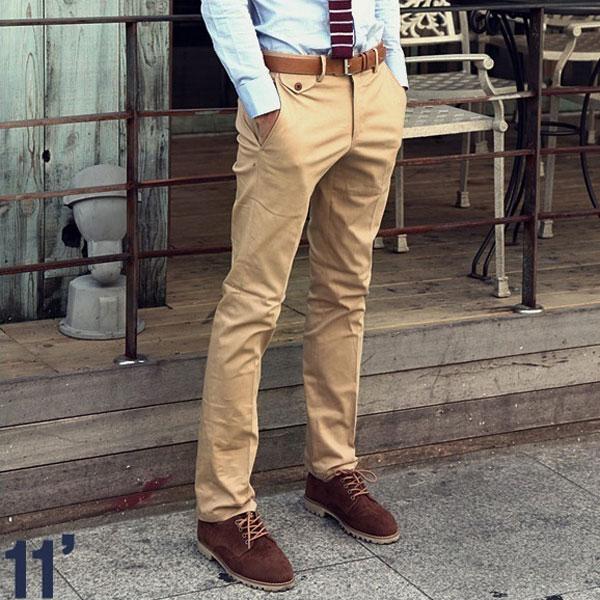 Slim Homme Couleur Pantalon Slim Homme