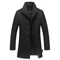 OCHENTA-Homme-Manteau-en-laine-collier-stand-style-simple-Gabardine-0