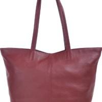 PHIL-SOPHIE-Cntmp-dames-sacs--main-sacs-fourre-tout-sacs--la-mode-poigne-sacs-en-cuir-Bourgogne-Bordeaux-45x29x15-cm-L-x-H-x-P-0
