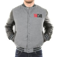 Solamode-Veste-Teddy-manches-simili-cuir-YMCMB-VE2220-Fashion-GrisNoir-0