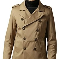 Valuker-Manteau-Trench-Manches-longues-Homme-FY69002-0