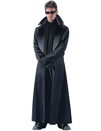 d88d73b16b6a Déguisement manteau long noir homme - C and C