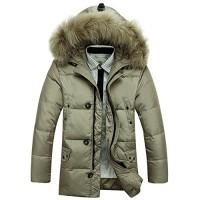 Homme-manteau-doudoune-mi-long-hiver-capuche-en-fausse-fourrure-0