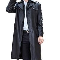 PLAER-Pour-des-hommes-Double-Affaires-Manteau-col-Trench-Coat-longue-plus-de-velours-rchauffent-lhiver-PU-veste-en-cuir-0